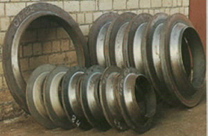 rings made by mandrel forging ring machine