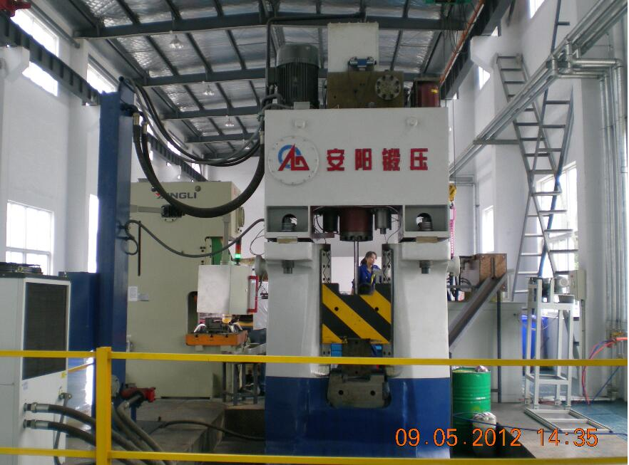 16kj Advanced PLC Hydraulic Forging Hammer in China