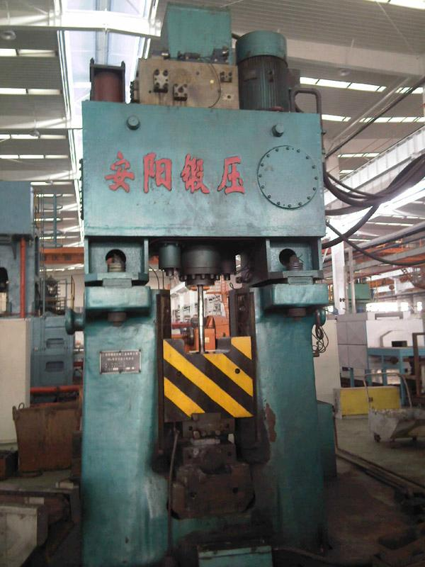 16KJ Programmable hydraulic forging hammerin China