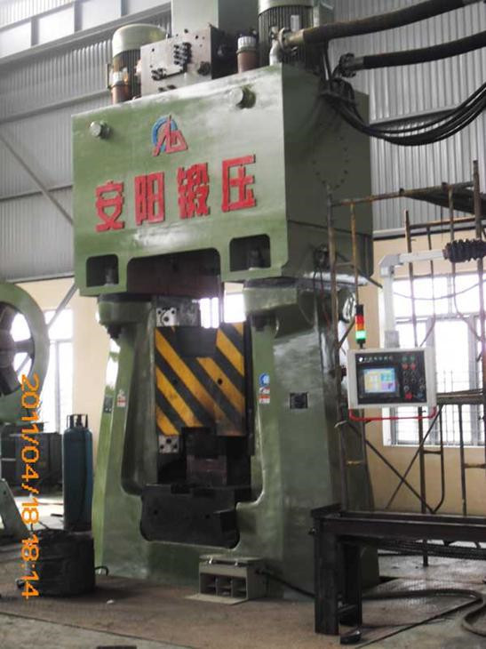 50kj CNC Program-controlled hydraulic die forging hammer in Burma