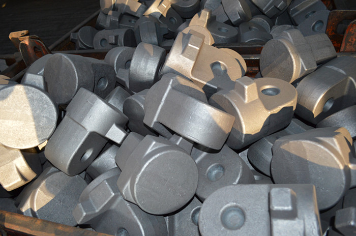 Die forging parts forged by CNC hydraulic die forging hammer