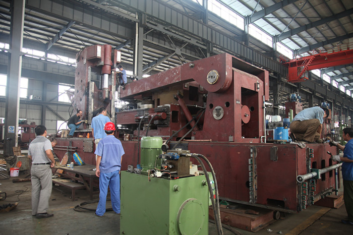 3m radial/axial ring rolling mill assembly