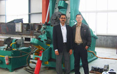 D51-350 ring rolling machine for india customer
