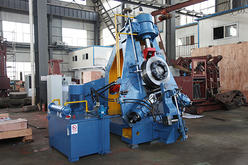 D51-500 rolled ring making machine for South Korea customer
