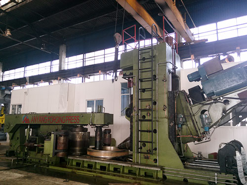 D53K-3000 automatic ring rolling machine in Romania