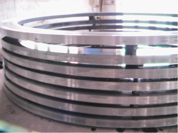 large ring made by Full automatic ring rolling machine