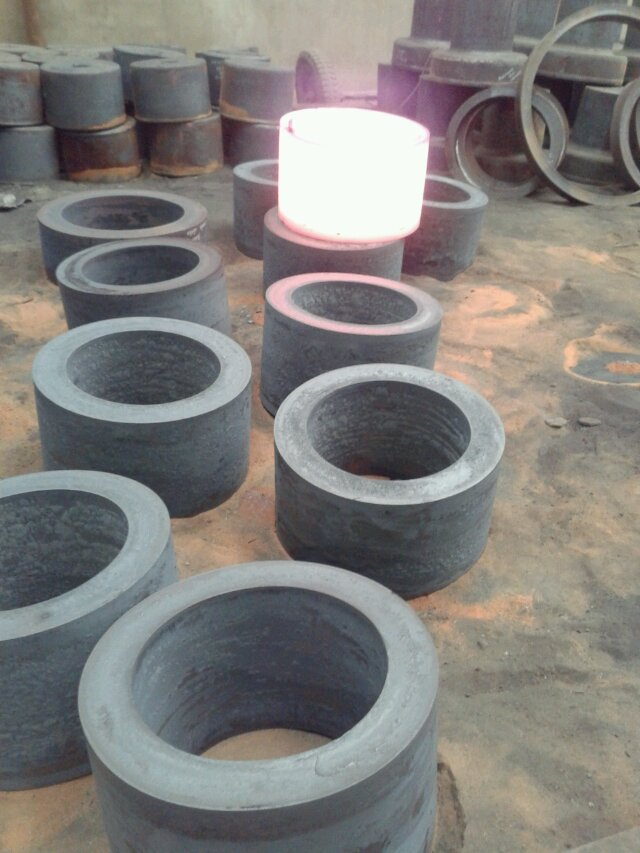 rings made on ring rolling making machine