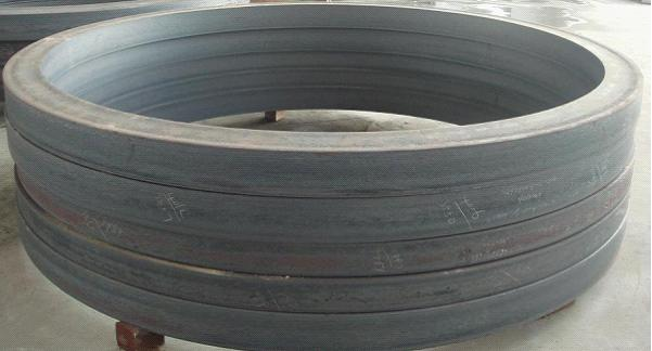 large ring produced on ring rolling line