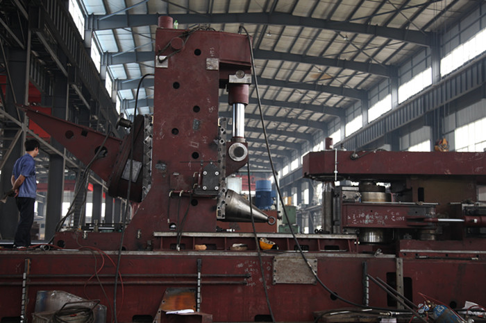 D53K-3000 CNC ring rolling mill assembly
